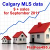 Calgary MLS prices increase in September ???
