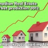Canadian home prices will go up in 2012
