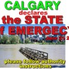 CALGARY declares STATE of EMERGENCY